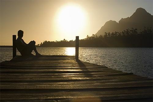 Sun by Dock
