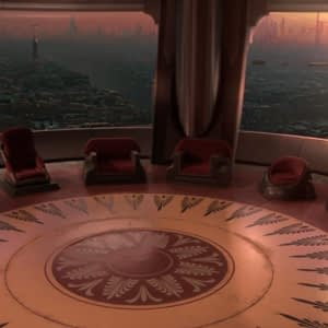 Anakin in Council Room